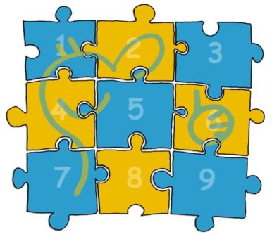 Sportpsychlogisches Training Puzzle